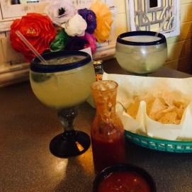 Margaritas, chips & salsa...
