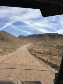 The Road to The Desert Bar