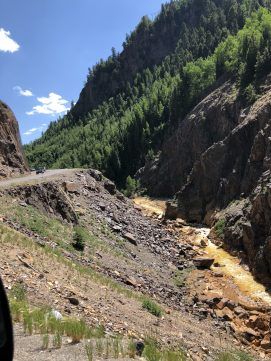 View of Red Mountain Creek