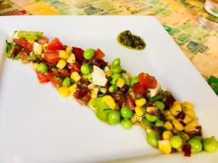 Salad at La Parada San Miguel de Allende