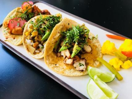 Tacos at Taco Lab San Miguel de Allende