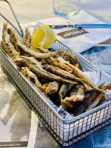 Pescadito Frito at Ramblero, Barcelona, Spain 2020 © Credit: Krystal M. Hauserman @MsTravelicious