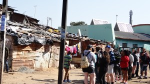 Intercultural Exchange, allows the 2014 students a walk through the informal sector, and the odd interaction as we progress