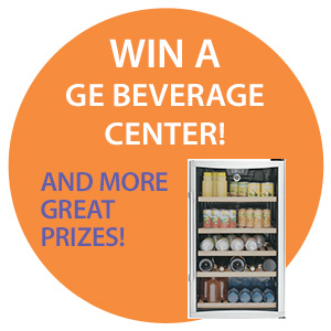 Win a GE wine cooler!
