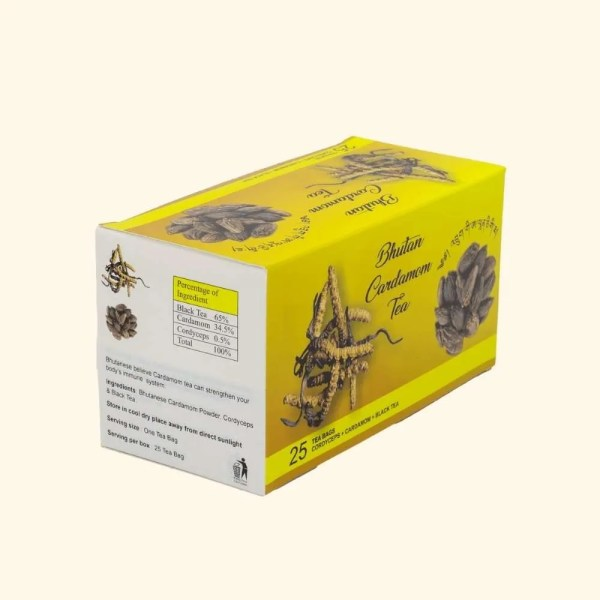 Bhutan Cardamom Tea Cordyceps 2
