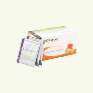 Safflower and Cinnamon Herbal Tea 1