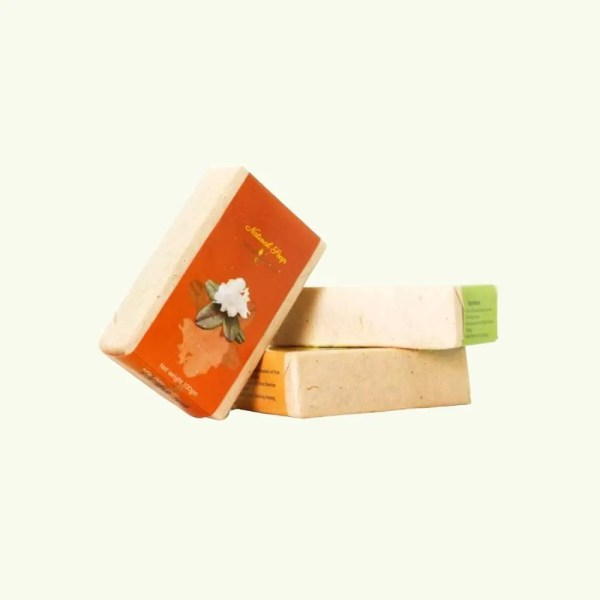Turmeric and Artemisia soap by bio bhutan 5