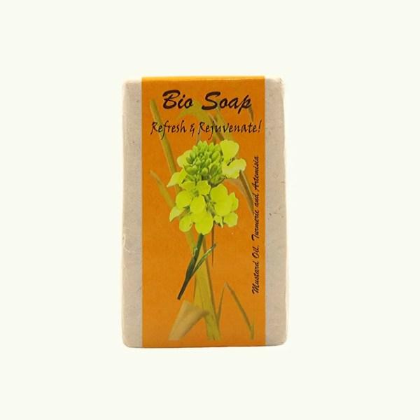 Turmeric and Artemisia soap by bio bhutan