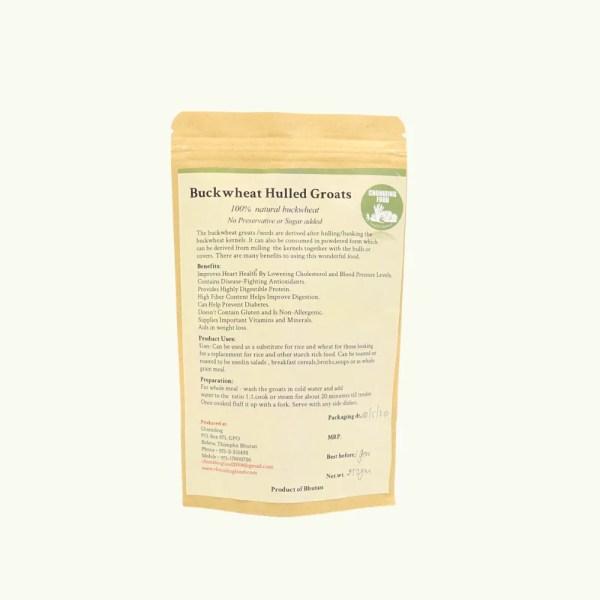 Hulled Buckwheat Groats