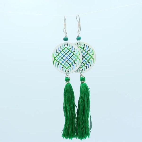 Rin Yang Earrings green 2