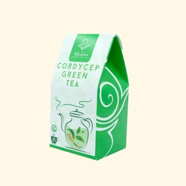 Bhutan Superfood - Cordyceps Green Tea 1