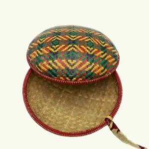 Bhutanese handicraft - cane basket 001 2