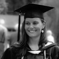 Stephanie's College Graduation with Psychology Degree