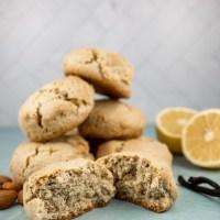 Almond Flour, Lemon, Vanilla Scones