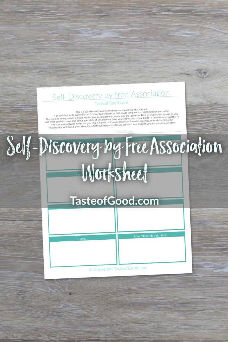 Self-Discovery Worksheet