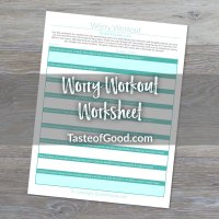 Worry Workout Worksheet