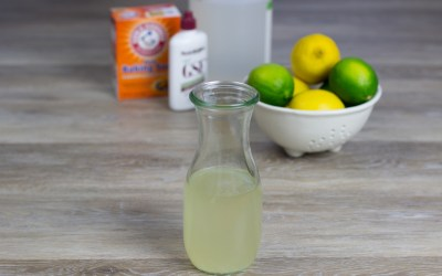 Homemade Vegetable and Fruit Wash