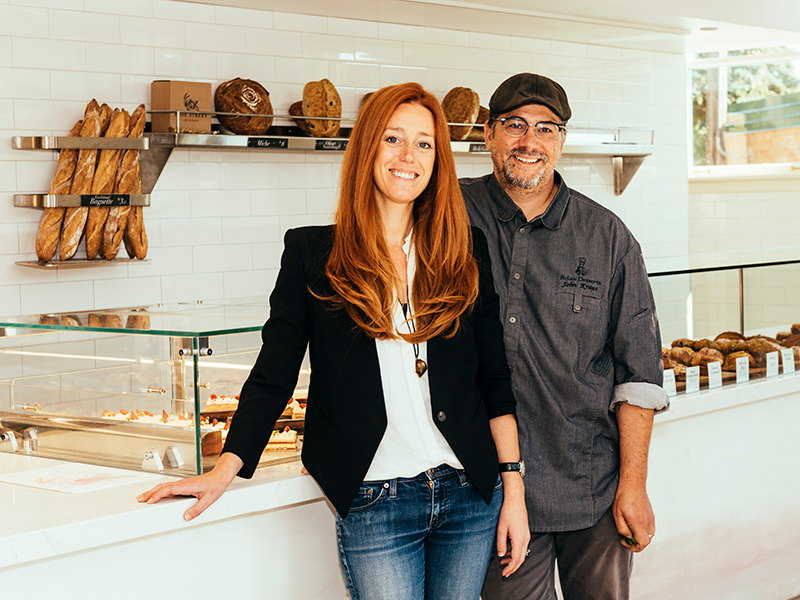 Chef John Kraus & Elizabeth Rose