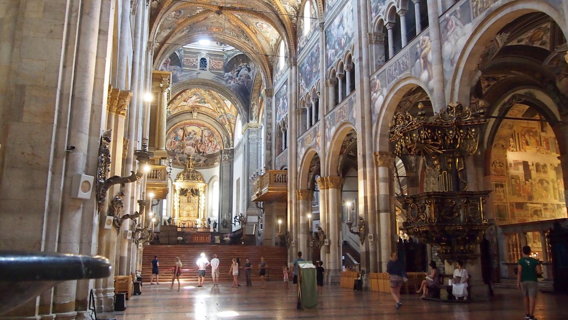 【意大利暑假自駕遊】(4) 速遊 Parma 上集 – 吃巴馬火腿前 先到大教堂朝聖 – TASTE OF MILANO