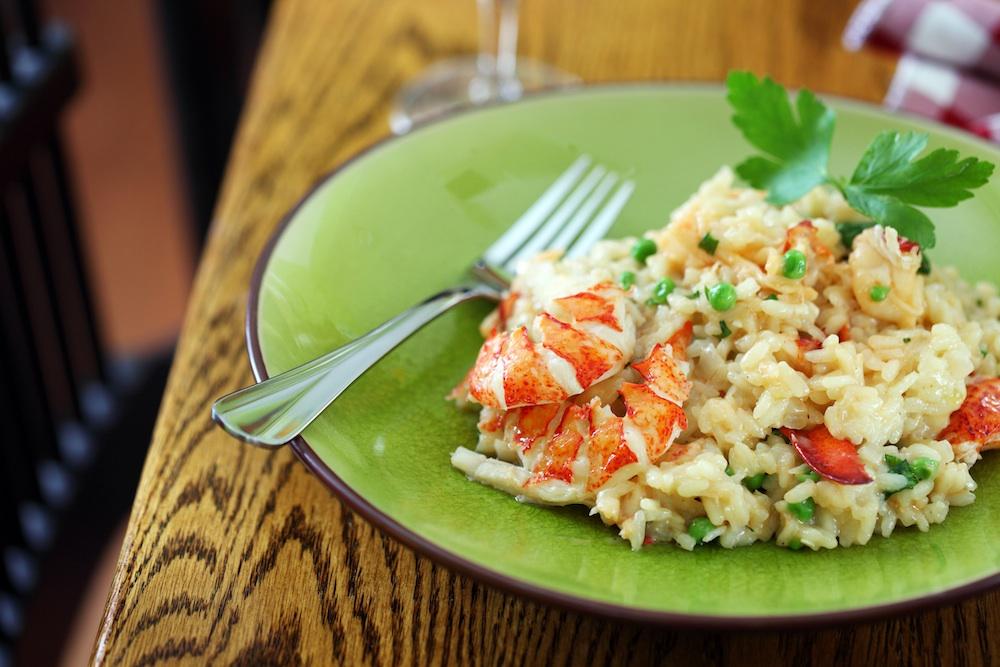 Lobster Risotto Recipe Dishmaps