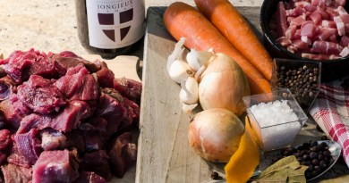 wild boar ragu ingredients