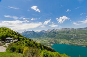 Views from the Terrace of Lake Annecy