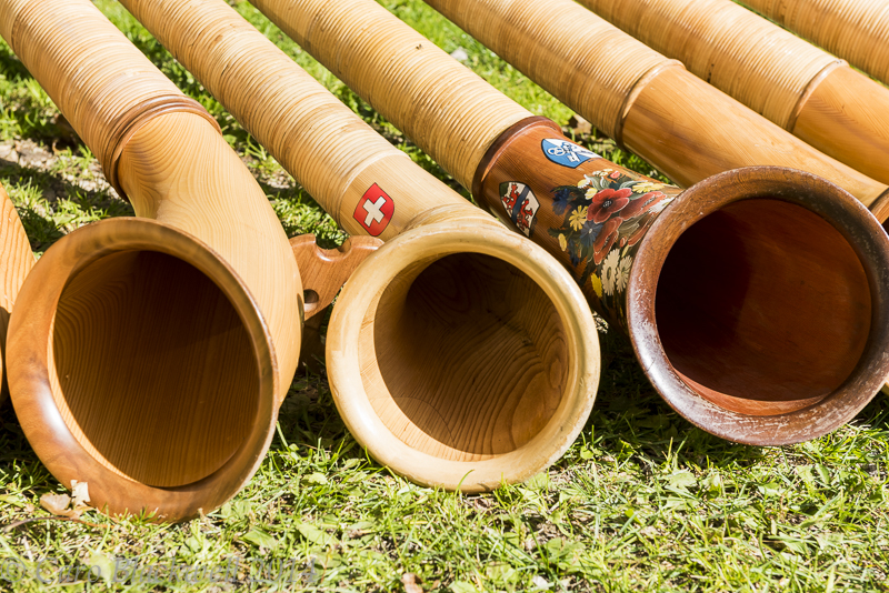 Alphorns - A traditional Swiss instrument