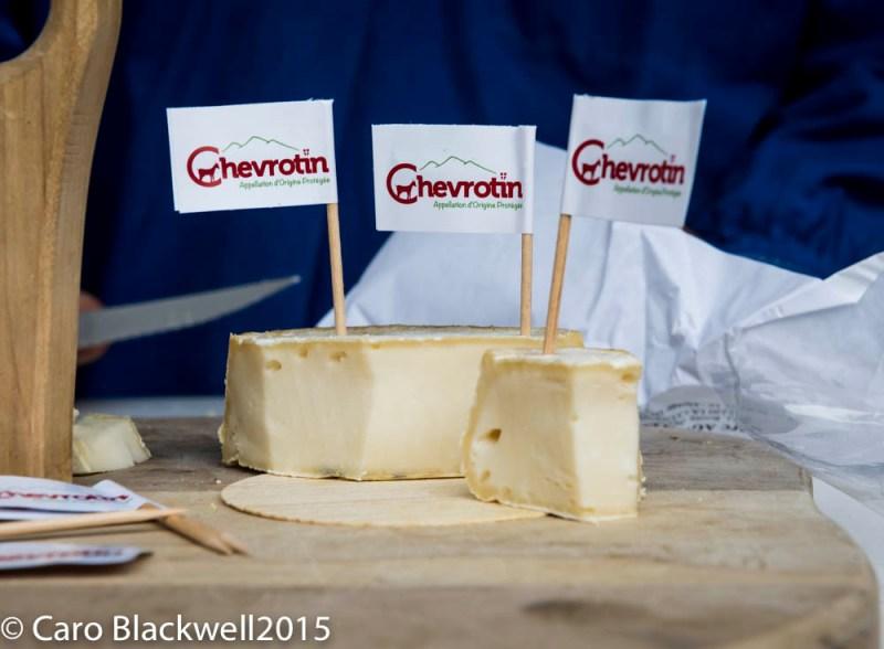 Chevrotin a Reblochon style cheese made with goats milk