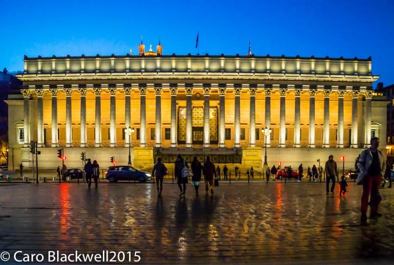 Palais de Justice - The Law Courts of Lyon