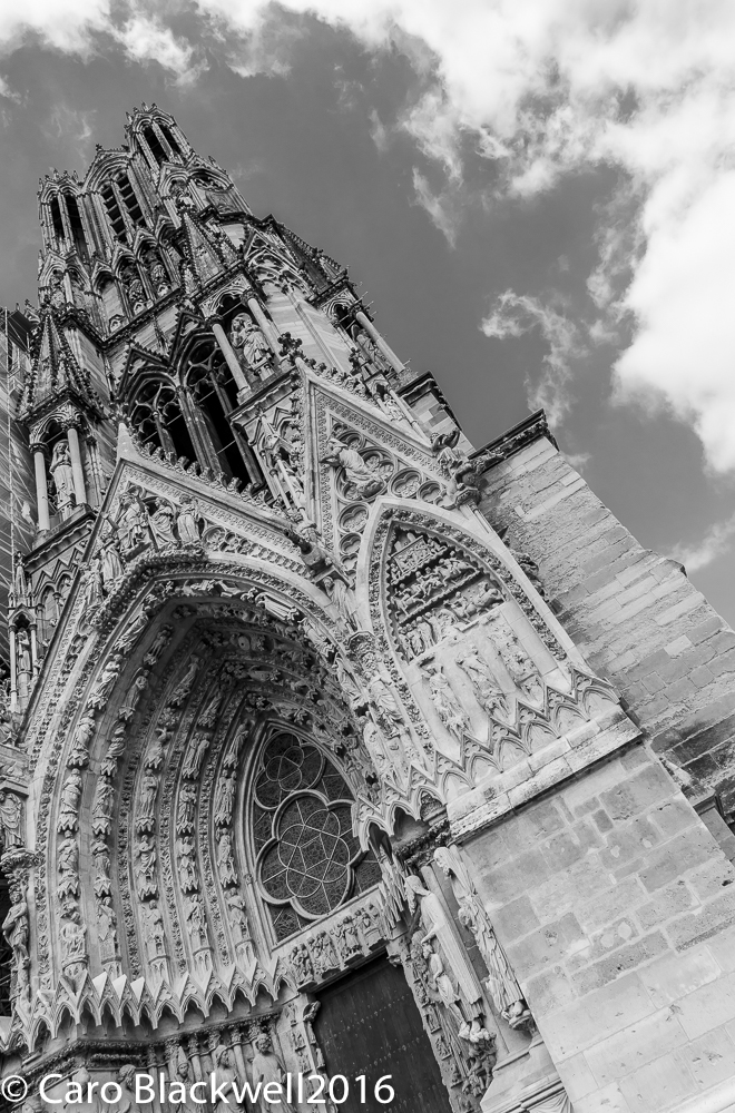 The Notre Dame Cathedral Reims