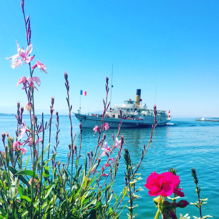 SS Vevey on Lac Leman by Caro Blackwell
