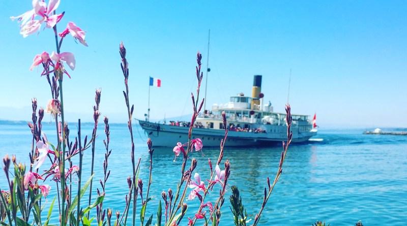 SS Vevey on Lac Leman, Switzerland