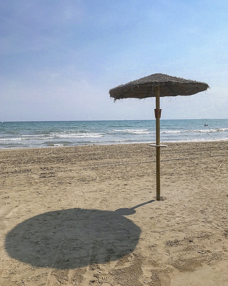 The beach at Benicassim