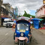 Tuk tuk to lunch in Chiang Rai - Taste of Savoie Travels