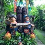In the gardens at Moom Mai, Chiang Rai