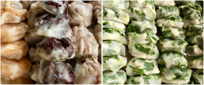 The four flavours of the delightful Kuichai