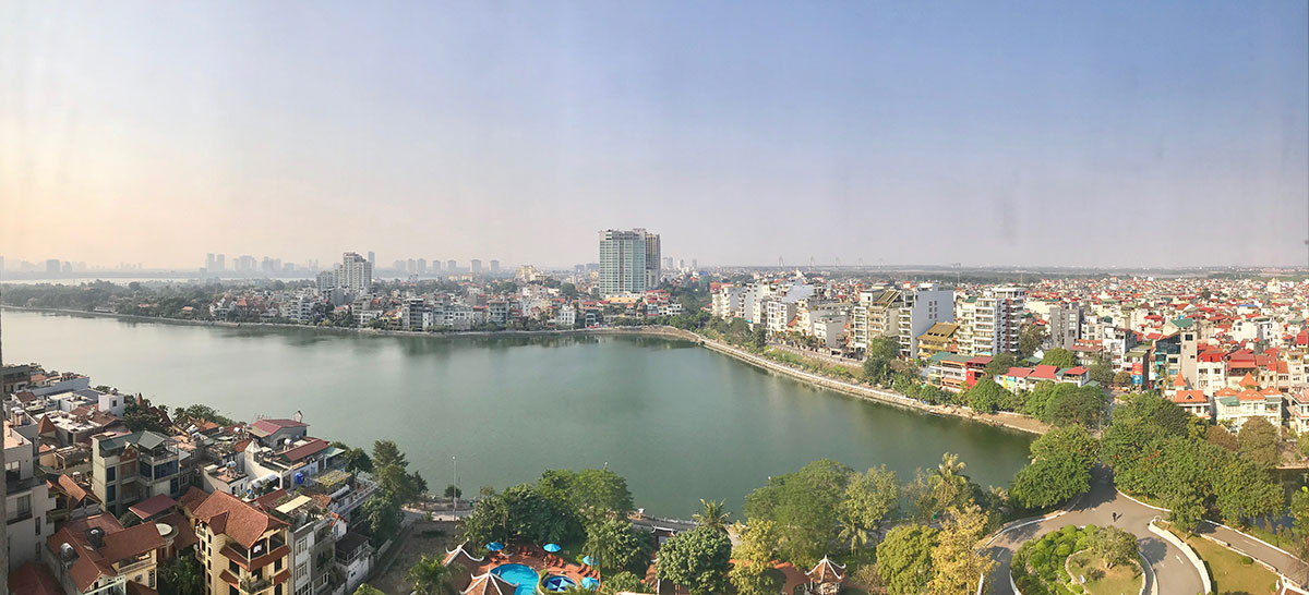 View from the Sheraton Hanoi