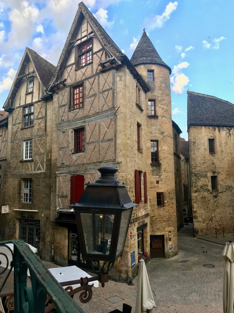 The view form my window in Sarlat