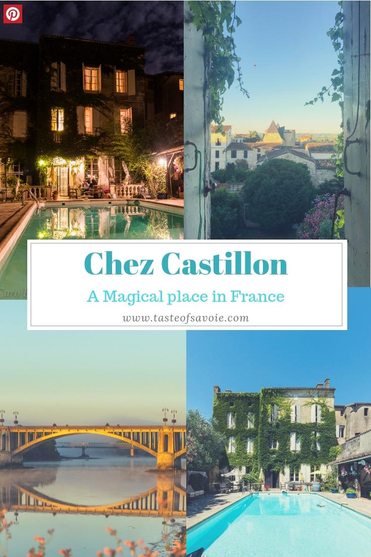 Chez Castillon in the Gironde by Taste of Savoie Travel Blogger