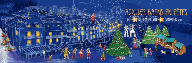 Le Marche de Noel Aix Les Bains