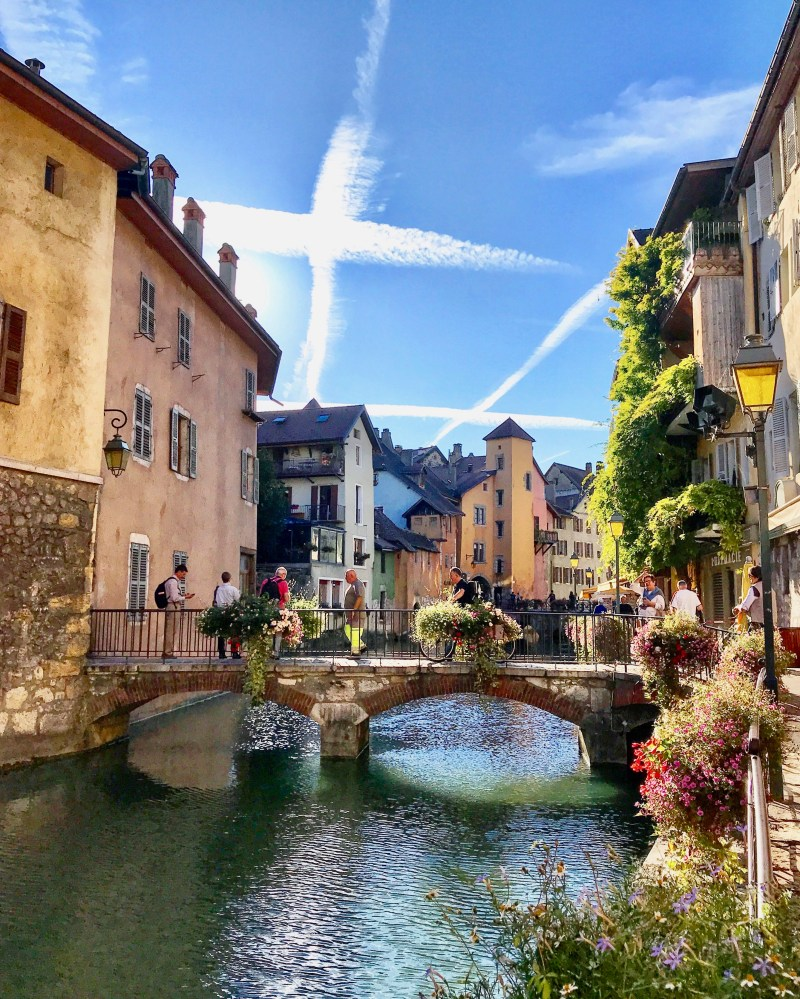 The Old Town in Annecy