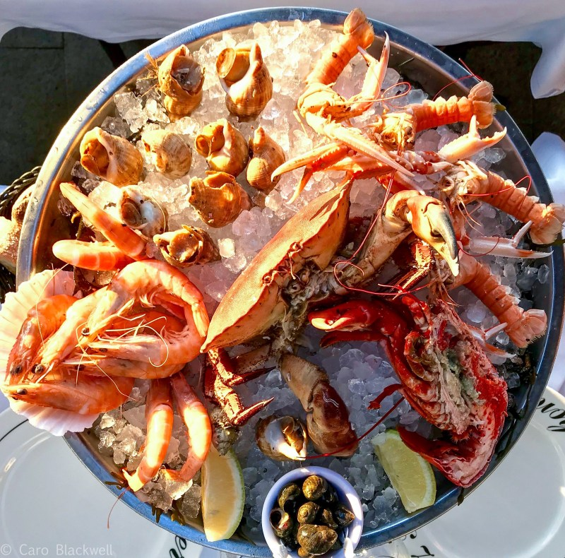 Seafood Platter - What the French eat at christmas