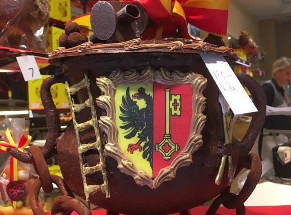 The chocolate Marmite, Escalade Geneva