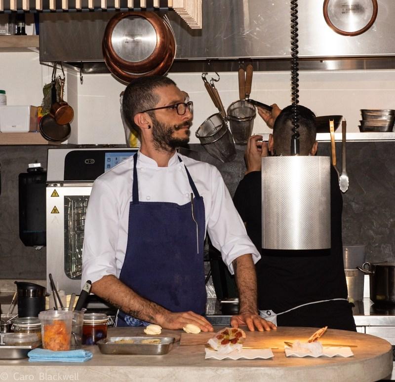 Chef Walter el Nagar - Le Cinquieme Jour