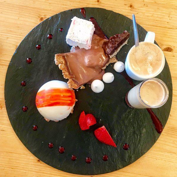 Cafe Gourmand at La Grande Ourse