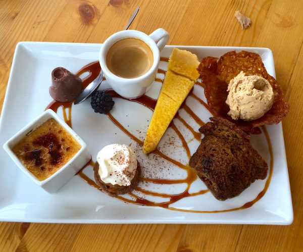 Cafe Gourmand at La Grande Ourse, Mont Chery, Les Gets