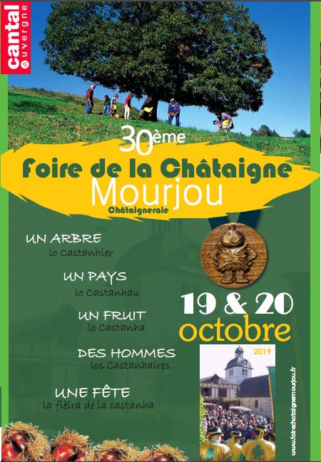 Foire de la Châtaigne, Mourjou, Cantal