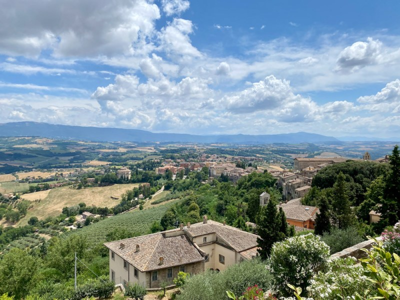 Views from Todi in Umbria