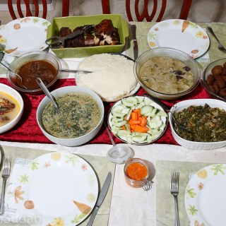 South Sudanese Dinner Party