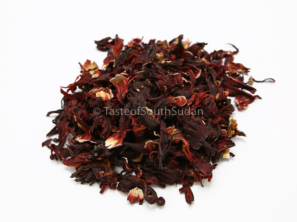 Hibiscus Flowers Dried Hibiscus Sabdariffa Taste Of South Sudan